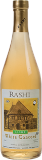 Rashi Concord Light White 750ml - Case of...